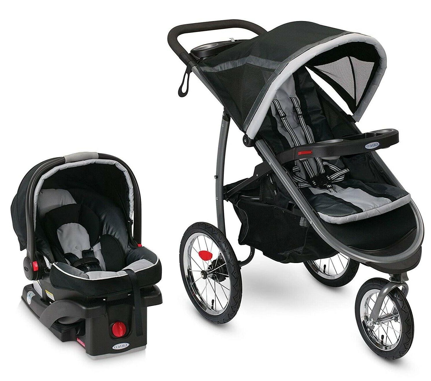 Graco Fastaction Fold Jogger Click Connect Baby Travel Syste