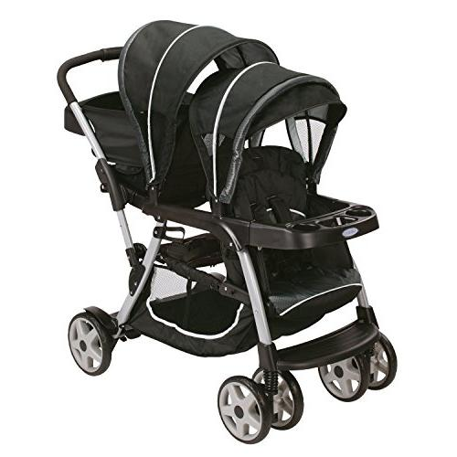 Graco Ready2grow Click Connect Double Stroller, Gotham