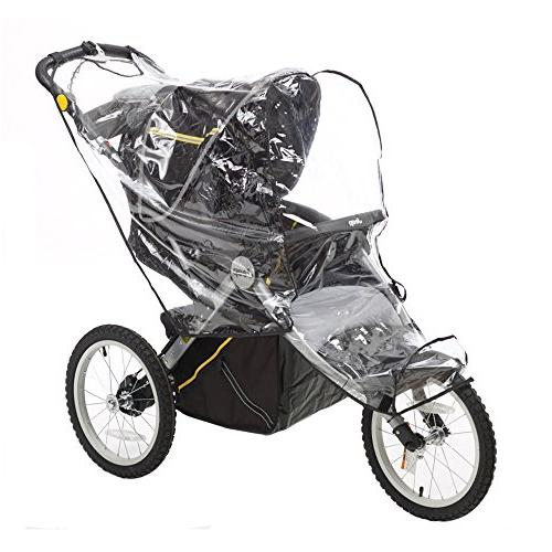 Jeep Jogging Stroller Shield, Universal fit most Strollers, Windproof, Plastic