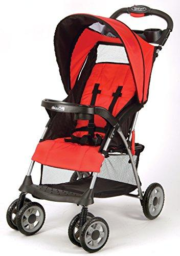 Kolcraft Stroller System and Seat, Extended One Storage Child Red