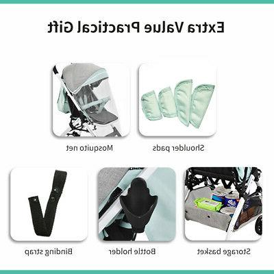 Airplane Step Fold Lightweight Baby Carriage