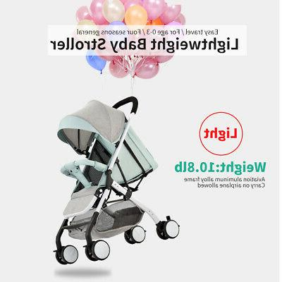 Airplane One Step Fold Lightweight Baby Carriage N6D6