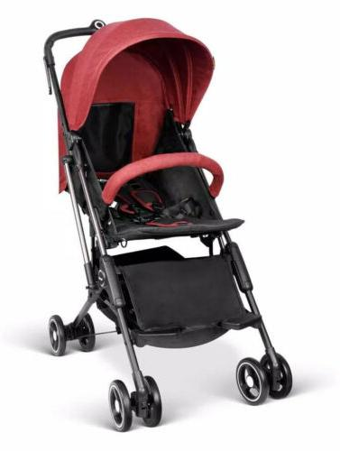 airplane lightweight carriage stroller red br c735s