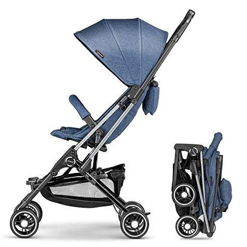 besrey Stroller Compact One Step Design for on Plane