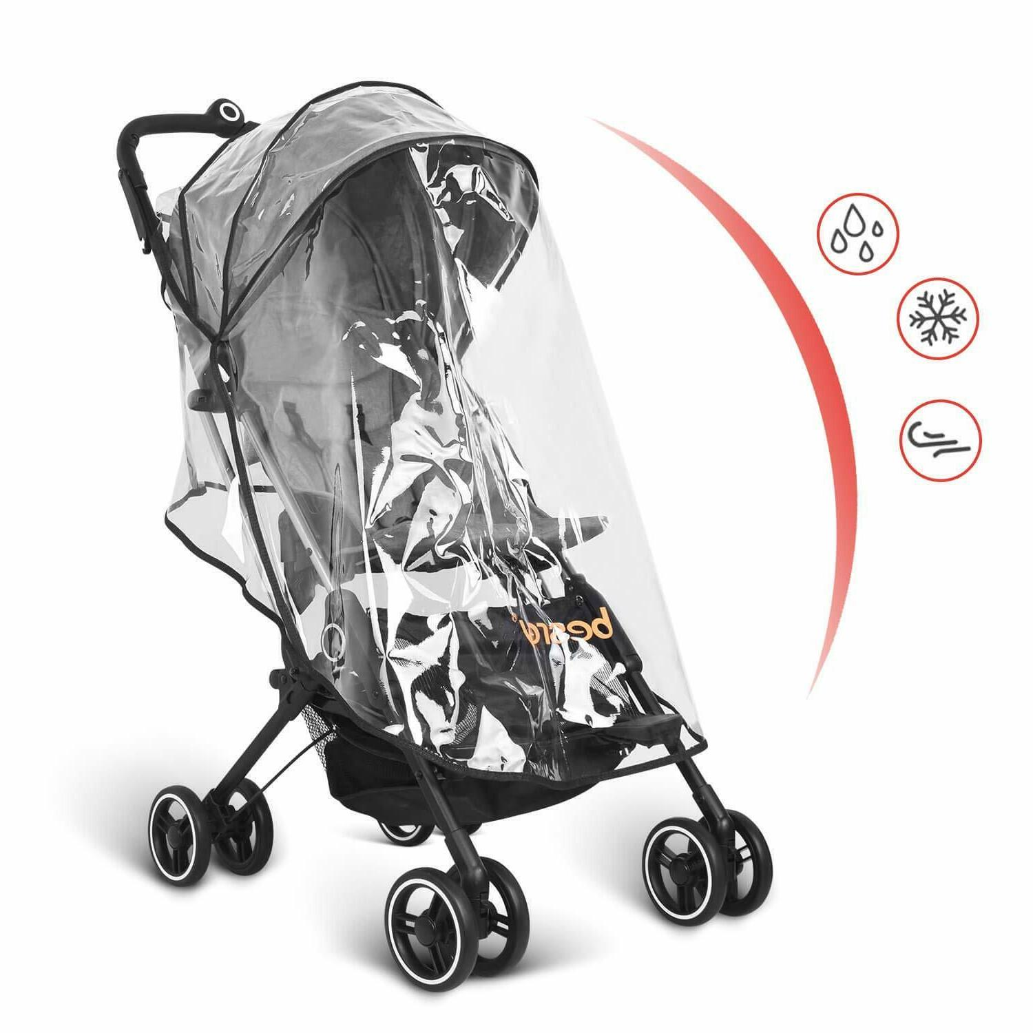 Besrey Airplane Stroller One Step for Opening w/