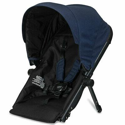 Britax Ready Folding Stroller + Second for G3 Navy