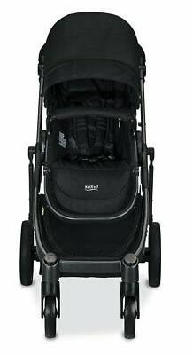 Britax Double Stroller in Black with Seat!!