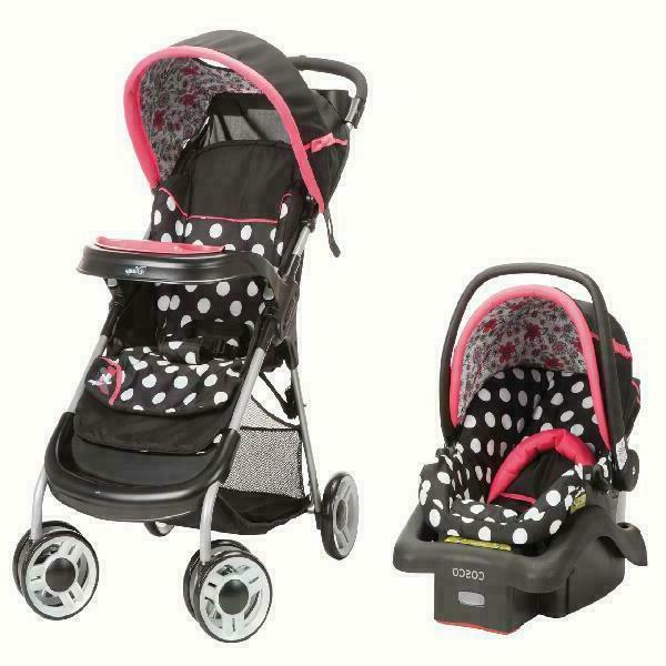 Baby Car Stroller Set Travel System for Girl