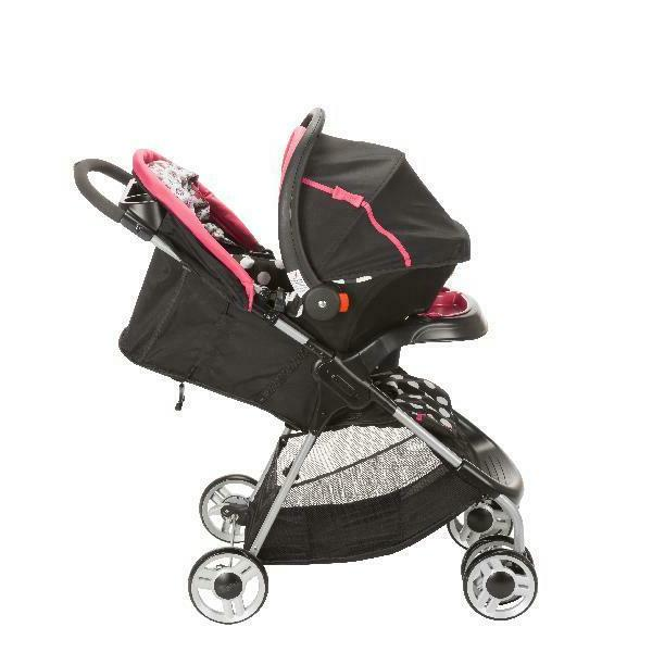 Baby Car Stroller Combo Set Travel Girl