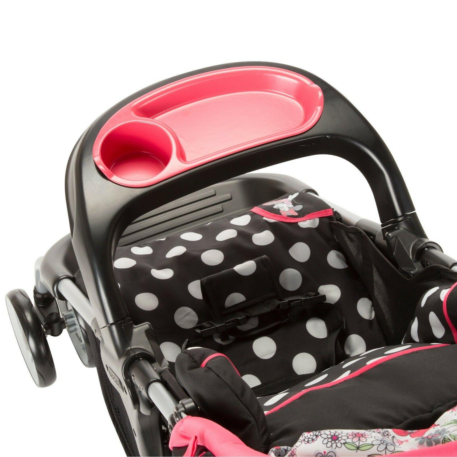 Baby Car and Stroller Combo Travel System for Girl Minnie