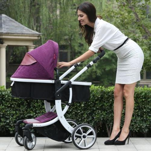 Baby Child Foldable Carriage Safe Infant Single