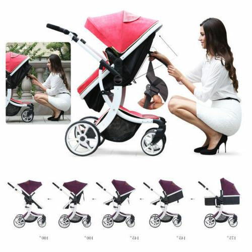 Baby Child Foldable Safe Pushchair Infant