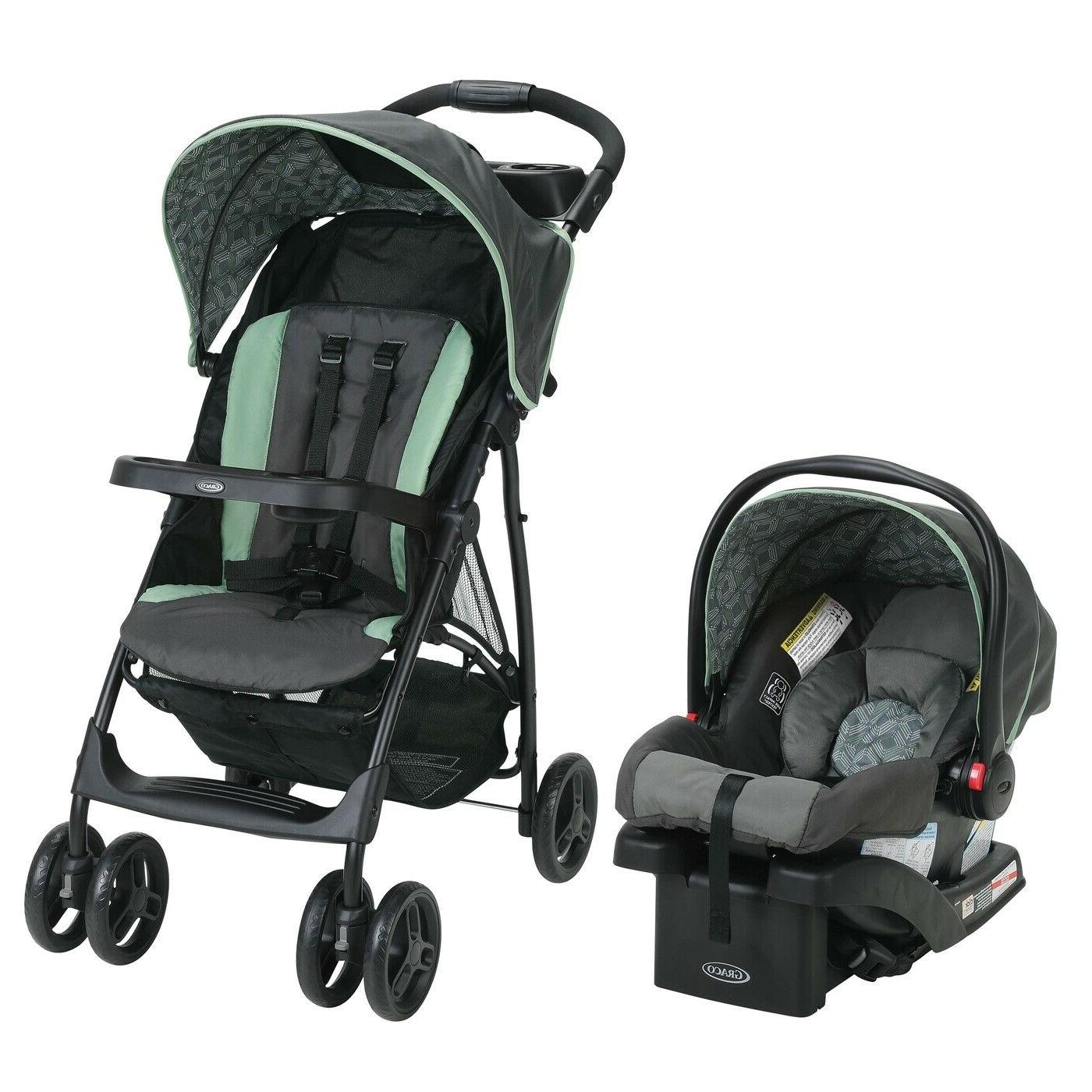 Baby Infant Toddler Stroller With Car Seat Combo