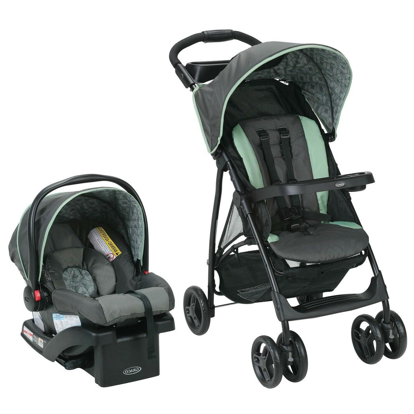 Baby Infant Toddler Stroller With Car Seat Combo Travel Syst
