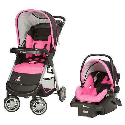 baby minnie mouse amble quad travel system