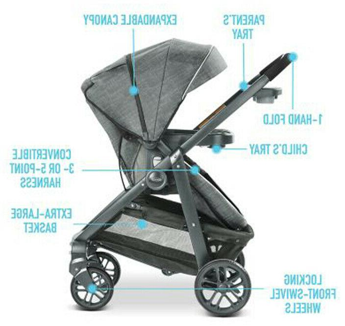 Graco Baby Modes System Stroller w/ Car Seat Carlee