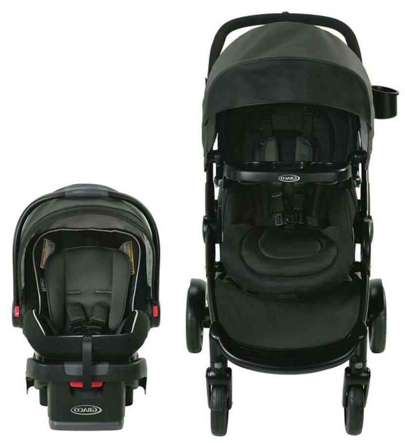 Graco Baby Modes2Grow Bassinet Travel System w/ Infant Car Seat