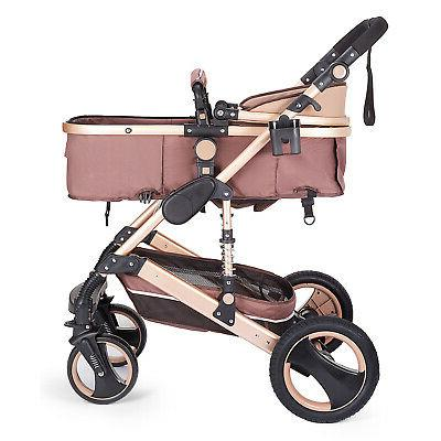 Luxury Baby Stroller in Foldable Car
