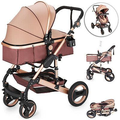 2 in 1 foldable baby kids travel