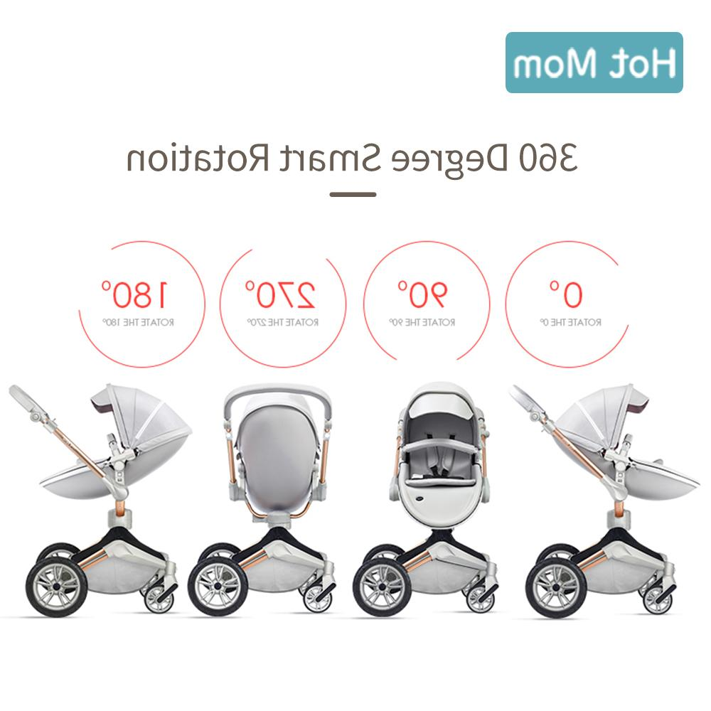 Hot Mom 3 system with <font><b>bassinet</b></font> and car seat Rotation Function,Luxury Pram F023