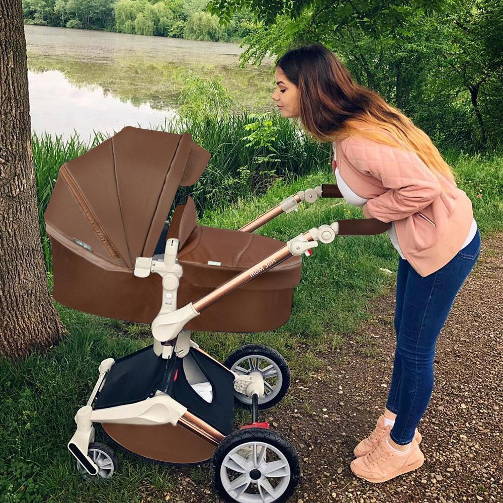 Hot Baby Stroller 3 travel system with <font><b>bassinet</b></font> Function,Luxury F023