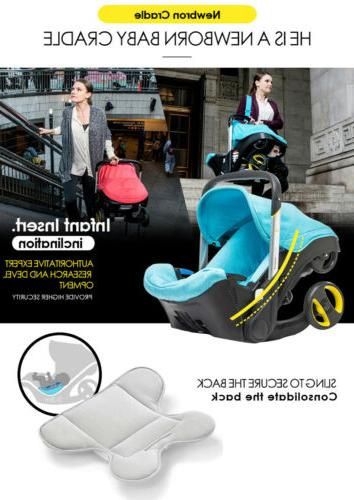 Multifunctional Car Baby Carriage Safety
