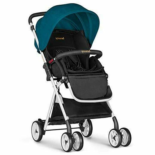 baby stroller foldable infant pushchair with adjustable