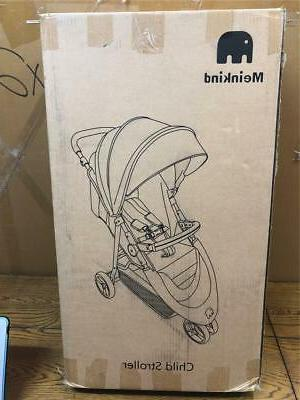 Meinkind Lightweight Strollers Wheels with Canopy