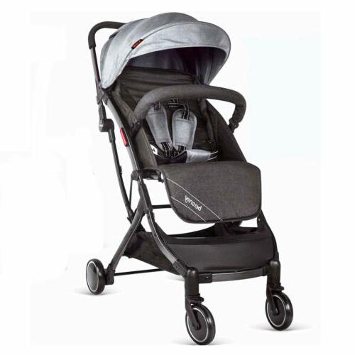 besrey Stroller Pushchair Foldable Buggy With Seat