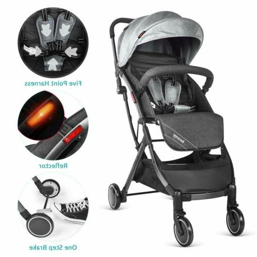 besrey Baby Foldable Buggy Infant With Car
