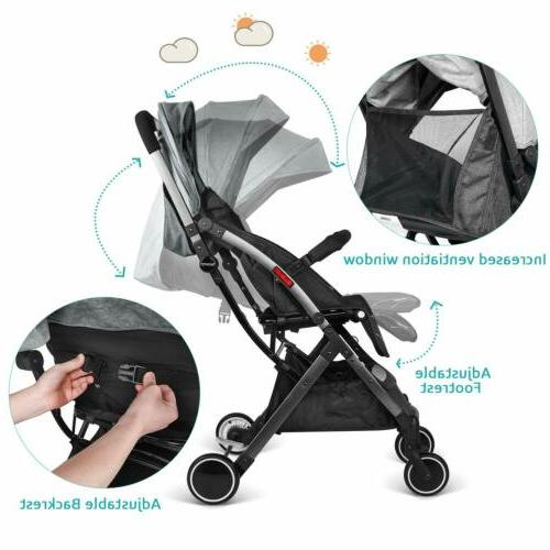 besrey Baby Stroller Foldable With Car Seat