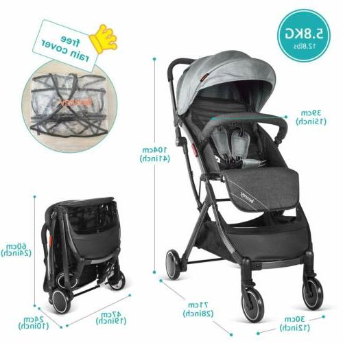 besrey Baby Pushchair Foldable Buggy Travel