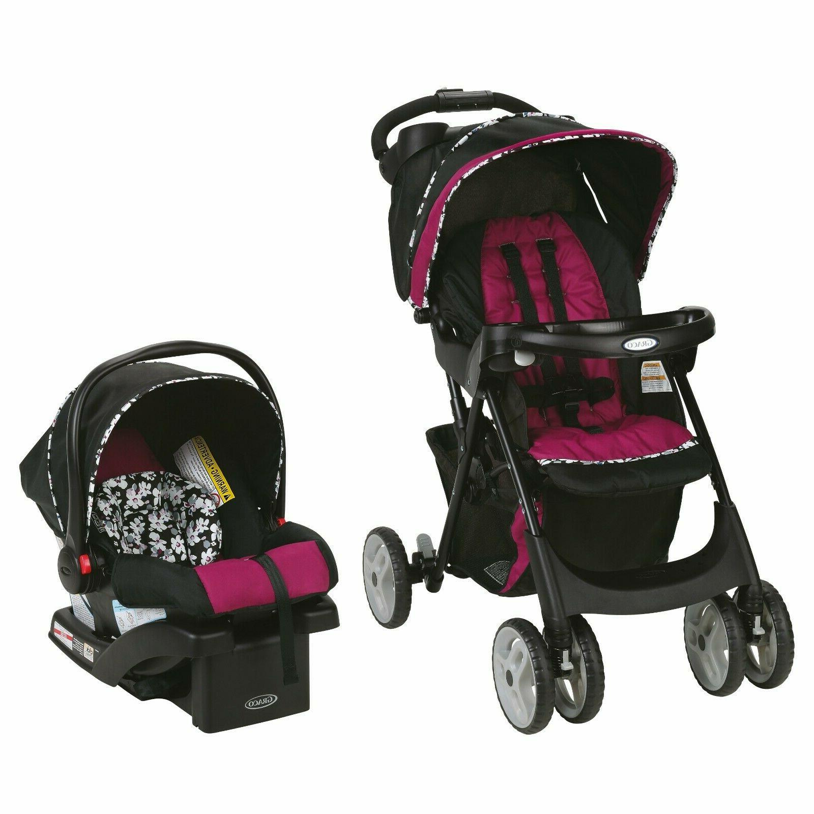 baby stroller travel system with car seat