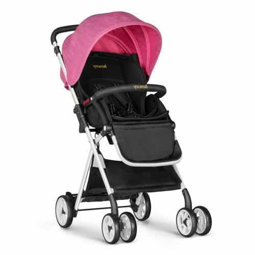 baby strollers lightweight foldable infant pushchair jogger