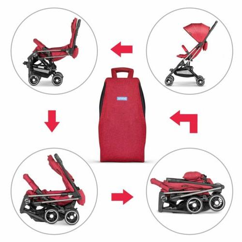 Besrey Baby Light Weight Foldable Infant Pram Pushchair