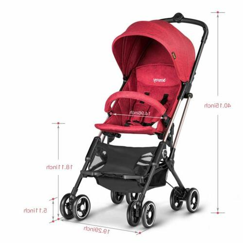 Besrey Baby Weight Infant Pushchair Travel
