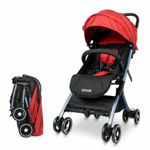Besrey Strollers Travel Systems Folding Toddler