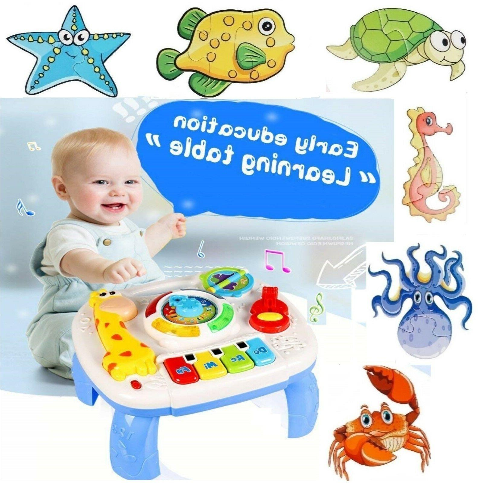 baby toddler toy musical learning table music