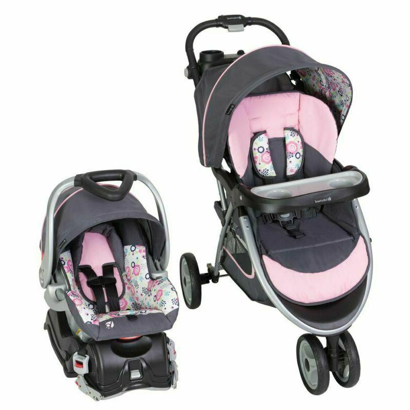baby trend skyview travel system flora