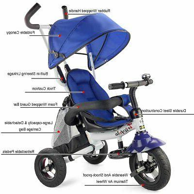 Costzon Baby Ride On Steer Stroller Learning