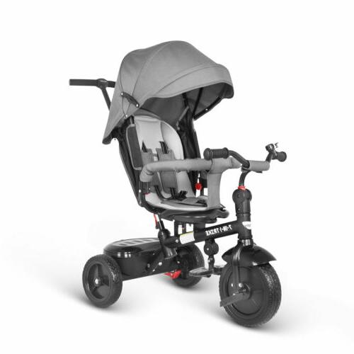 baby tricycle 7 in 1 trike push