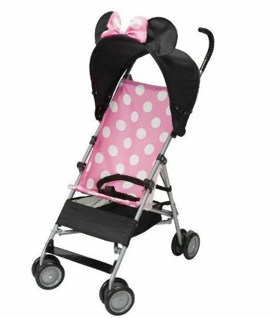 mickey mouse baby umbrella stroller with canopy