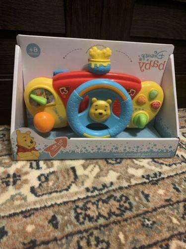 baby winnie pooh stroller driver electronic dashboard