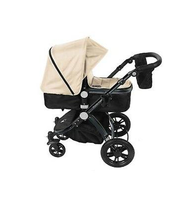 Babyroues Letour-Avant Deluxe 3-in-1 Travel Frame/Tan Leatherette
