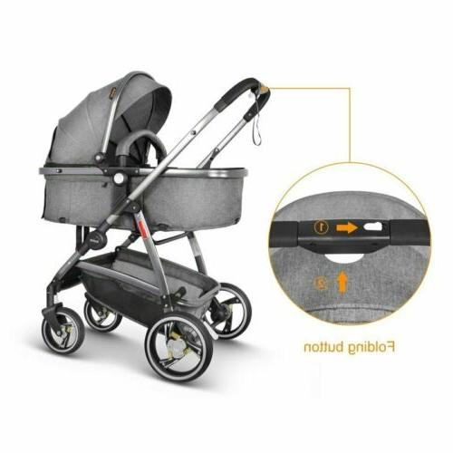 3 in Strollers Infant Travel Buggy Pram