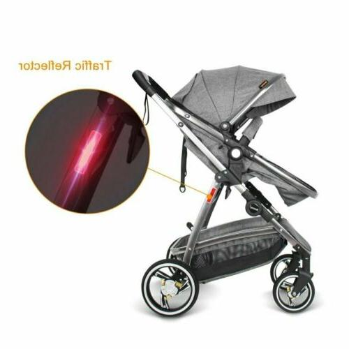3 1 Baby Strollers Infant Foldable Pushchair Travel System