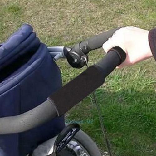 Black soft Fabric Cover To Peg Perego strollers Black