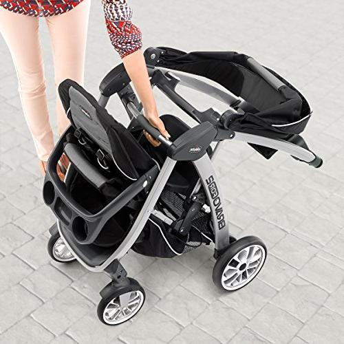 Chicco Standing/Sitting Stroller, Iron