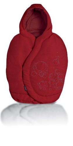 Infant Car Seat Footmuff - Color: Intense Red