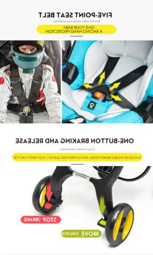 Multifunctional Baby Stroller Safety